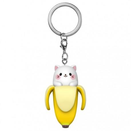 Bananya Cat Keychain