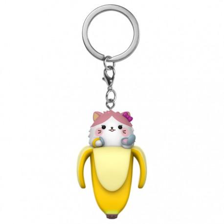 Bananyako Cat Keychain