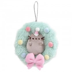 Ornamento Pusheen Christmas Wreath