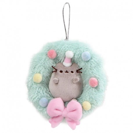 Pusheen Christmas Wreath Ornament
