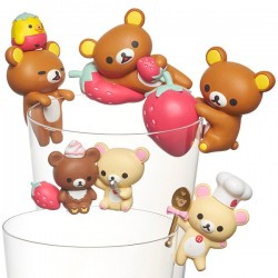 Rilakkuma Putitto Strawberry Party Series