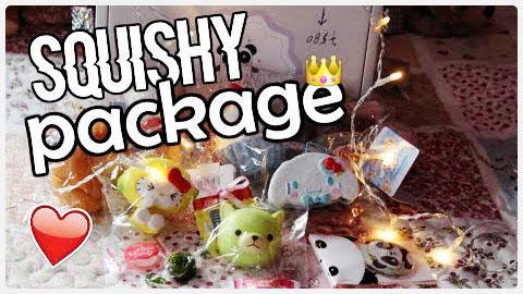 Birthday Squishy Package