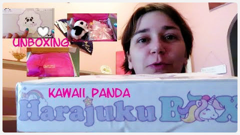 Unboxing // Kawaii Panda Harajuku Box // Stationery