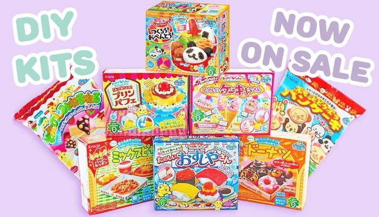 DIY Japanese Kits Now on Sale!