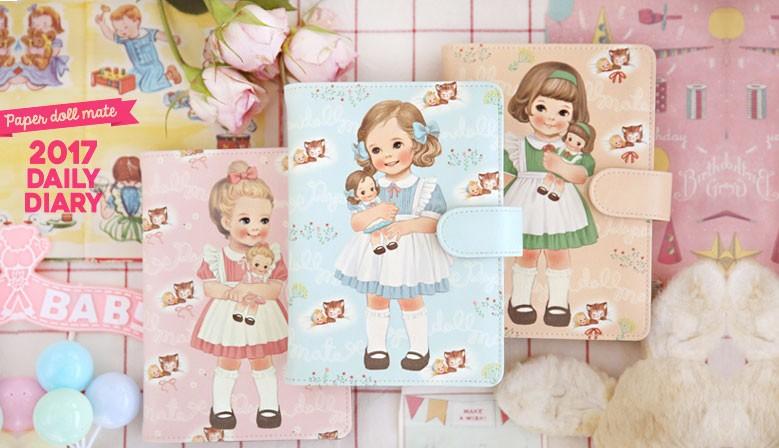 As bonecas Paper Doll Mate na Kawaii Panda!