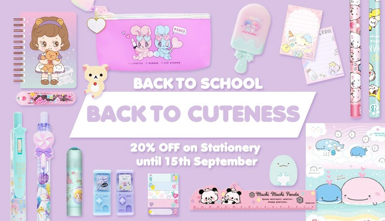 Go Back to School, Go Back to Cuteness!