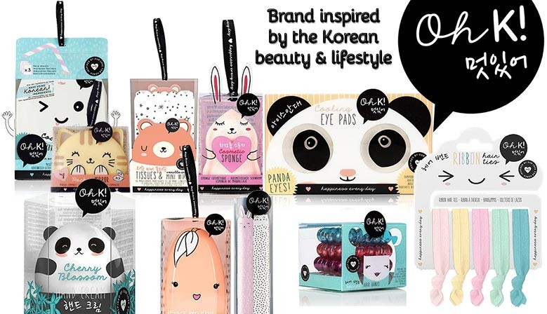 Adorable beauty & cosmetic products from Oh K!