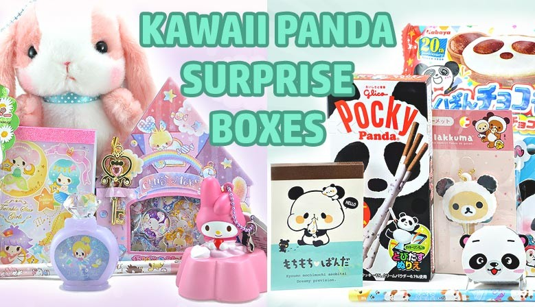 ¡Echa un vistazo a todas las cajas sorpresa de Kawaii Panda!