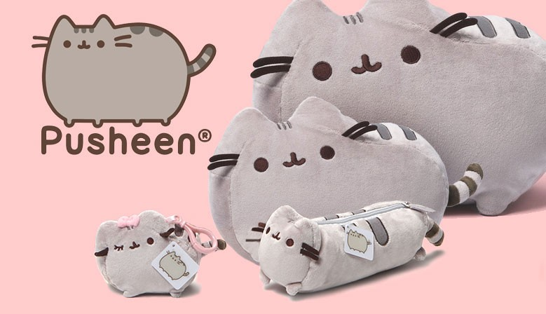 Pusheen The Cat now available @ Kawaii Panda!