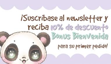 10% Bonus de Bienvenida